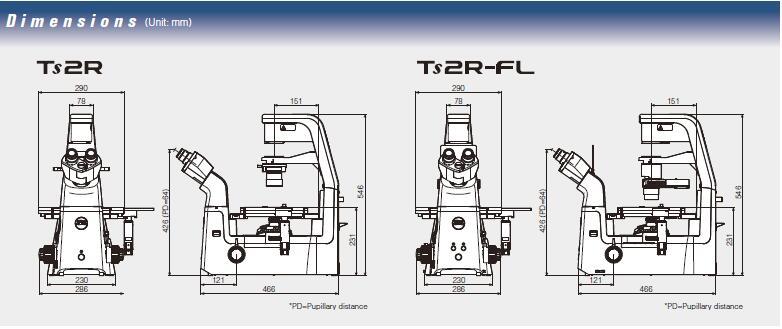 TS2R尺寸图