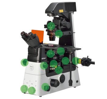内置传感器检测显微镜组件的状态