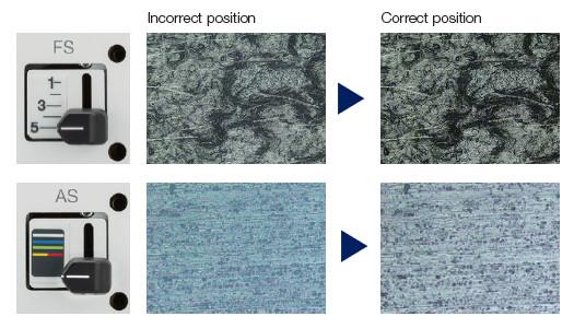 使用正确的孔径光阑和视场光阑设置能够获得良好的图像对比度,还可以充分利用物镜的数值孔径