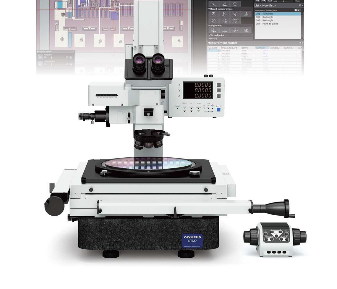 奥林巴斯测量显微镜STM7