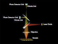 共聚焦自动聚焦系统光路