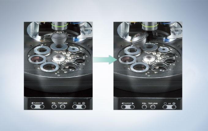减少背反射的聚光镜